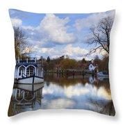 Strateley - England Throw Pillow