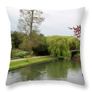 Stratford Upon Avon 1 Throw Pillow by Douglas Barnett