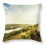 Strathgordon Tasmania Adventurer Throw Pillow