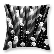 Straw Gathering  Throw Pillow