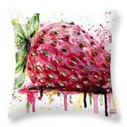 Strawberry 2 Throw Pillow