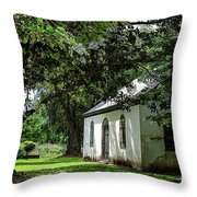 Strawberry Chapel Of Ease Throw Pillow