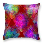 Strawberry - Food Pattern Throw Pillow