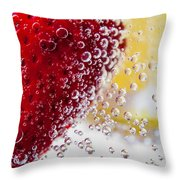 Strawberry Lemonade Throw Pillow