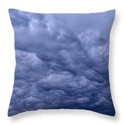 Streaks In The Clouds Throw Pillow