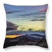 Streaks Of Light Throw Pillow