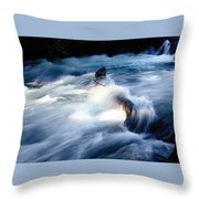 Stream 2 Throw Pillow