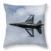 Streaming Past The Clouds Throw Pillow