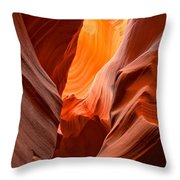 Streams Of Light Throw Pillow