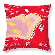 Streamy Throw Pillow