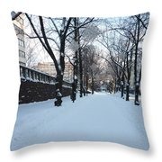 Street Throw Pillow