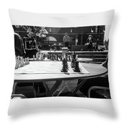Street Chess 2 Throw Pillow