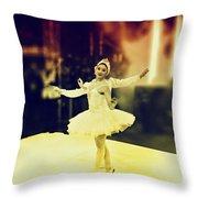 Street Dancers Throw Pillow