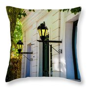 Street Kights Colonia Throw Pillow