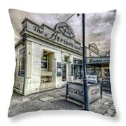 Street Narrative Throw Pillow