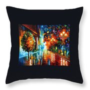 Street Of Hope Throw Pillow