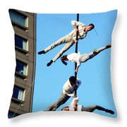 Street Performers 10 Throw Pillow