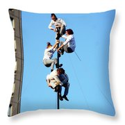 Street Performers 15 Throw Pillow