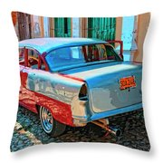 Street Racer Throw Pillow