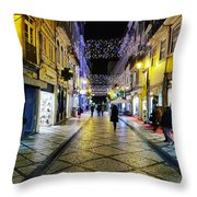 Street  Throw Pillow