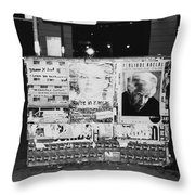 Street Series #6 Throw Pillow