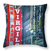 Street Signs Of New York Throw Pillow