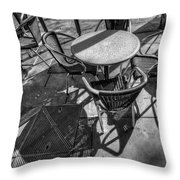 Street Texture Throw Pillow