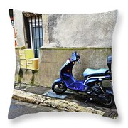Street View Throw Pillow