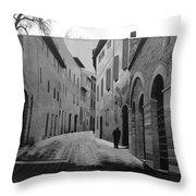 Street Within A Street Throw Pillow