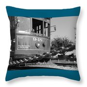 Streetcar 948 Throw Pillow