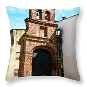 Streetlight Bells And Cross Throw Pillow