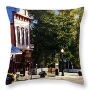 Streets Are Empty Throw Pillow