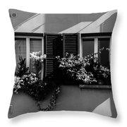 Streets Of Cesena 2  Throw Pillow