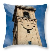Streets Of Cesena 8 Throw Pillow