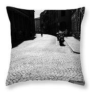 Streets Of Cesena Throw Pillow