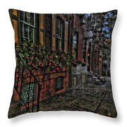 Streets Of Fairmont Throw Pillow