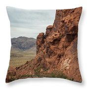 Streets Of Fire Throw Pillow