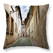 Streets Of France Throw Pillow