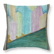Streets Of Gold Throw Pillow