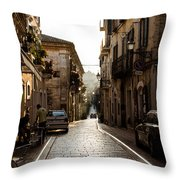 Streets Of Italy - Citta Sant Angelo 2 Throw Pillow