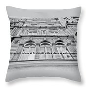 Streets Of London Quote Throw Pillow