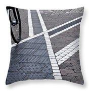 Streets Of Mainz 1 Throw Pillow