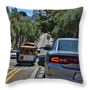 Streets Of San Francisco -1 Throw Pillow