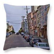 Streets Of San Francisco -2 Throw Pillow
