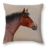 Strength And Kindness Throw Pillow