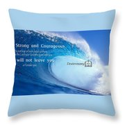 Strength2 Throw Pillow