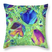 Stressed, Stretched And Melted Throw Pillow