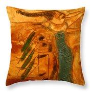 Stretch - Tile Throw Pillow