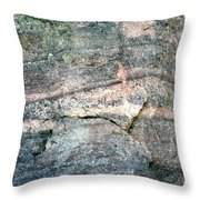 Striations 2 Throw Pillow