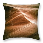 Striations. Throw Pillow